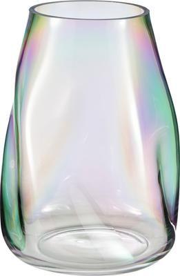 Mondgeblazen glazen vaas Rainbow