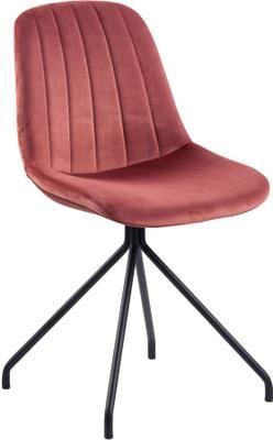 Sametová čalouněná židle Eva