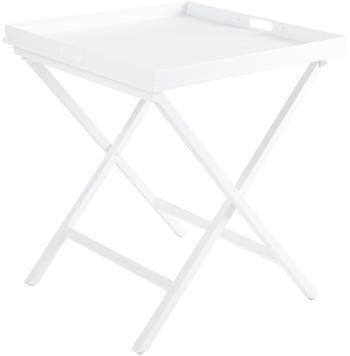 Table d'appoint blanche pliante Vero