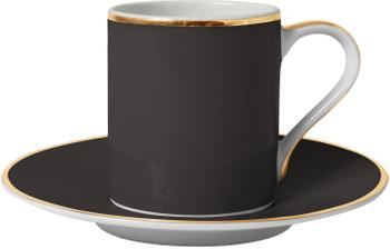 Tasse à café porcelaine Ginger, 2pièces