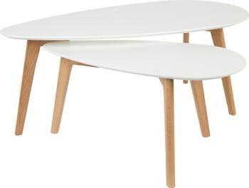 Couchtisch 2er-Set Nordic im Skandi Design