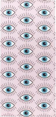 Leichtes Strandtuch Eyes mit Augenmotiven