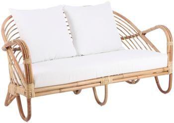 Canapé lounge en rotin Rochester