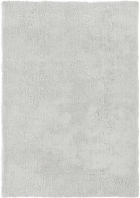Tappeto morbido a pelo lungo grigio chiaro Leighton