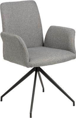 Chaise pivotante rembourrée Naya