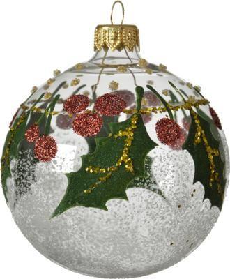 Boule de Noël Misto Ø8cm, 2pièces