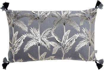 Coussin rectangulaire velours Palm