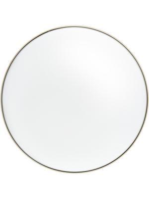 Miroir mural rond doré Ivy