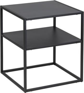 Table d'appoint en métal, noire Neptun