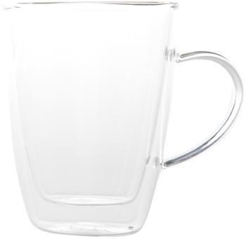 Tasse en verre isotherme à double paroi Isolate, 2pièces