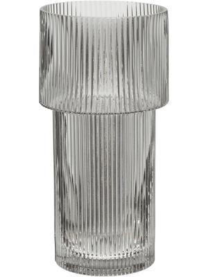 Vase en verre gris Lija