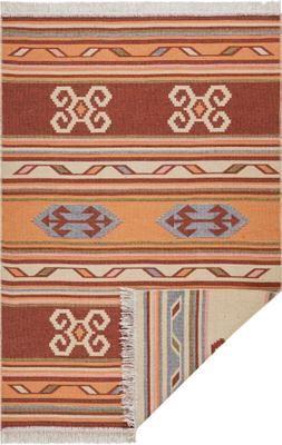 Kelimteppich Tansa im Ethno-Style aus Baumwolle