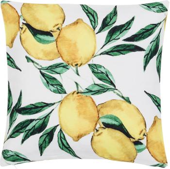 Housse de coussin à imprimé Citrus