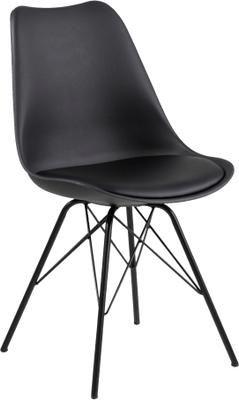 Stolička s čalúneným sedadlom Erin, 2 ks