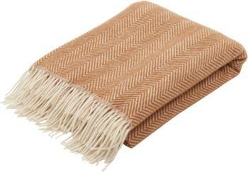 Manta de lana con flecos Tirol-Mona
