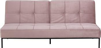 Sofá cama de terciopelo Perugia, plegable