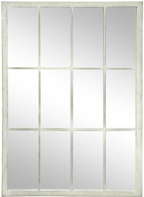 Espejo de pared Zanetti, con marco de metal