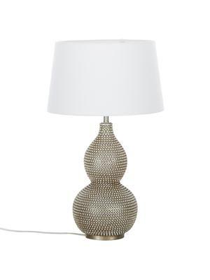 Lampa stołowa z antycznym wykończeniem Lofty