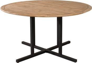 Table de jardin ronde en bois Cruz