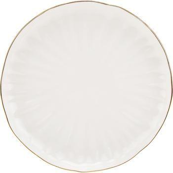 Assiette à dessert porcelaine Sali, 2 pièces