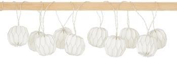 Girlanda świetlna LED Origami, 275 cm i 10 lampionów