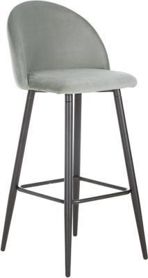 Zamatová barová stolička Amy