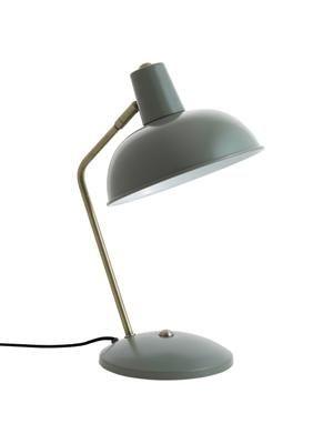 Lampa biurkowa w stylu retro Hood