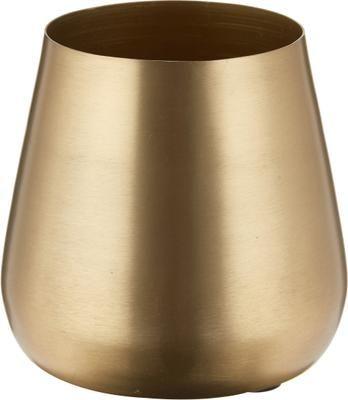 Mały wazon dekoracyjny z metalu Simply