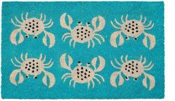 Fußmatte Krabben