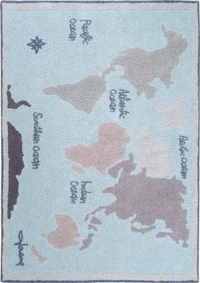 Alfombra lavable Vintage Map