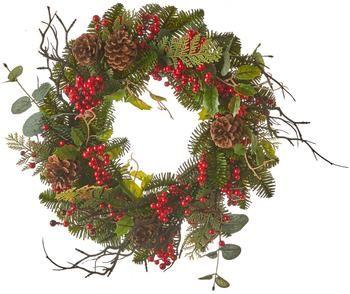 Decoratieve kerstkrans Addy