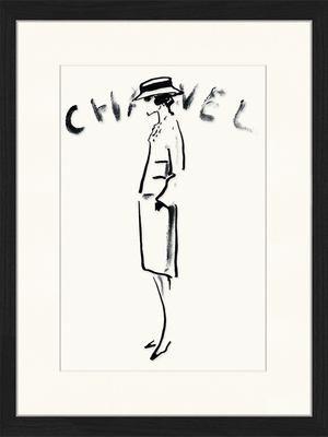 Stampa digitale incorniciata Chanel