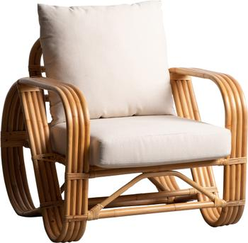 Poltroncina in rattan Fennel