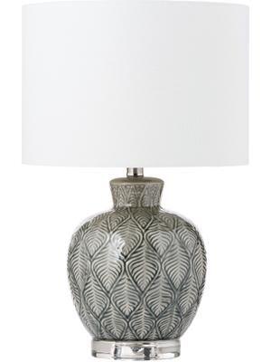 Lampa stołowa z ceramiki Brooklyn