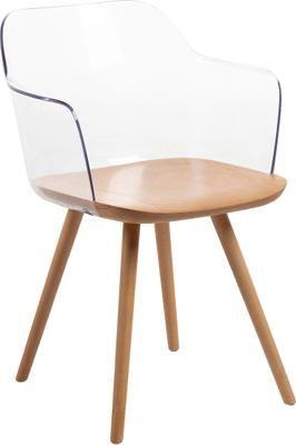 Krzesło z podłokietnikami Bjorg, 2 szt.