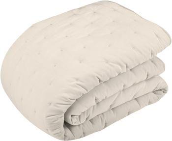 Couvre-lit ouaté en velours avec matelassage décoratif Cheryl