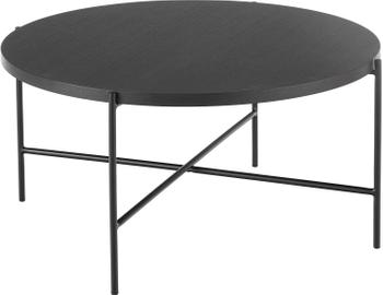 Konferenčný stolík s drevenou doskou Mica