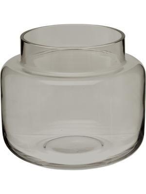 Vase en verre gris Lasse