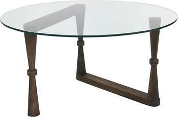 Konferenčný stolík so sklenenou doskou NuD