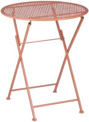 Table de balcon pliante métal Ninet