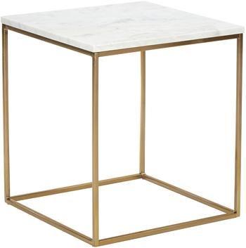 Mramorový pomocný stolík Alys
