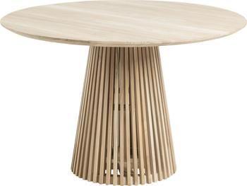 Tavolo rotondo in legno massiccio Jeanette