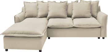 Sofa narożna z funkcją spania i miejscem do przechowywania Mona