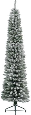 Decoratieve kerstboom Pencil, besneeuwd