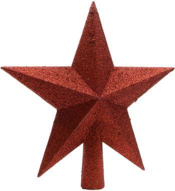 Breukvaste kerstboom piek ster Ø 19 cm