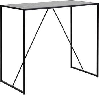 Table haute en bois et métal Seaford