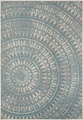 In- & outdoor vloerkleed Arnon met patroon