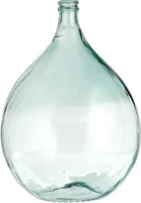 Vase dame-Jeanne verre recyclé Mikkel