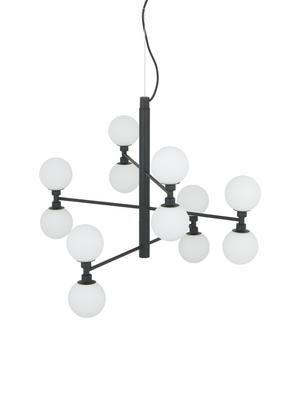 Lámpara de techo grande de cristal Grover