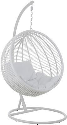 Fotel wiszący z metalową ramą Round
